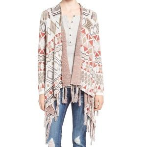 ISO Aztec Blanket Cardigan by Sun & Shadow